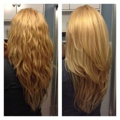 long layered hairstyles 2015 back - Google Search
