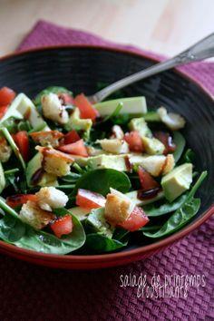 Et Charlotte Découvrit la Cuisine: Salade de Printemps Croustillante