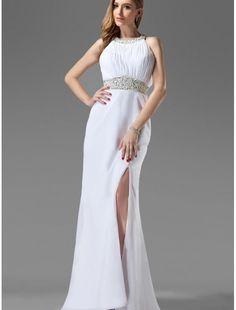 love white evening dress