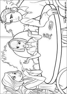 Free Coloring Sheets Of Barbie Thumbelina Printable Picture 14