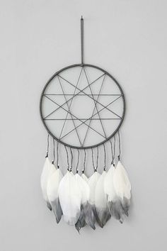 Shop Magical Thinking Double Star Dream Catcher at Urban Outfitters today. Diy Home Crafts, Crafts To Make, Arts And Crafts, Diy Dream Catcher Tutorial, Bedroom Decorating Tips, Decorating Ideas, Dream Catcher Decor, White Wall Clocks, Magical Thinking