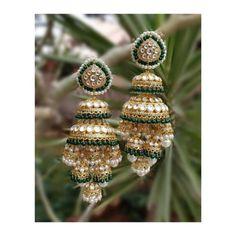 Beautiful and Unusual Handmade Silver Jewellery Indian Jewelry Earrings, Indian Jewelry Sets, Fancy Jewellery, Jewelry Design Earrings, Antique Jewellery Designs, Indian Wedding Jewelry, Gold Earrings Designs, Ear Jewelry, Stylish Jewelry