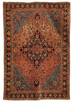 Tappeto persiano Saruk, fine XIX secolo cm 232x135 from Cambi Casa d'Este