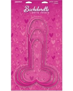 These Pecker Cookie Cutters are perfect for any occasion. Make a batch of penis cookies. better yet, make a pecker ice cream sandwich! Choose from three sizes, , , and . Wanna chew on a pecker tonight? Here's your chance! Bachelorette Decorations, Bachelorette Party Supplies, Bachelorette Party Decorations, Bachlorette Party, Cookie Decorating Party, Party Items, Party Accessories, Cookie Cutters, Shaped Cookie