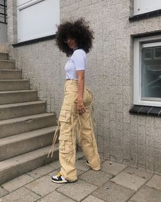 really cute outfits Throwback Outfits, Tomboy Outfits, Dope Outfits, Trendy Outfits, Girl Outfits, Hipster Outfits, Fashion 90s, Black Girl Fashion, Fashion Killa