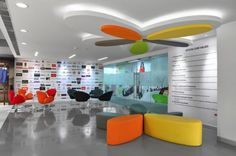 Cool offices: Myntra in Bangalore, India