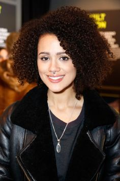 Nathalie was born on in Southend-on-Sea, Essex, England, UK as Nathalie Joanne Emmanuel. She is an actress, known for Furious 7 Hollyoaks Maze Runner: The Scorch Trials and Game of Thrones British Actresses, Hollywood Actresses, Curly Hair Styles, Natural Hair Styles, Nathalie Emmanuel, Biracial Hair, Actress Jessica, Mixed Hair, Bad Girls Club