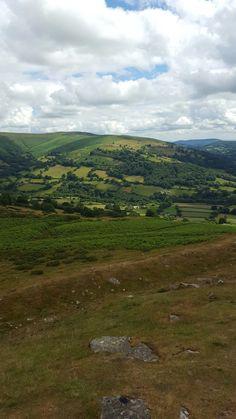 Black Mountains Wales UK 💜