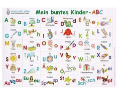 Mein buntes Kinder-ABC Poster #betzoldkiga #kindergarten #kita #kiga #poster #lesen #abc