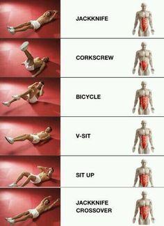 Ejercicios para trabajar el abdomen! pic.twitter.com/KDeRvnLndK