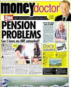 Irish Daily Star Money Doctor column 20th October 2016 Q