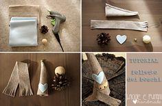 Tutorial riciclo creativo: folletto dei boschi con le pigne