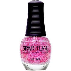 SpaRitual Nail Lacquer, Flutter 0.5 oz (15 ml) (£9.28) ❤ liked on Polyvore featuring beauty products, nail care, nail polish, nails, makeup, beauty, accessories, sparitual, sparitual nail polish and sparitual nail lacquer