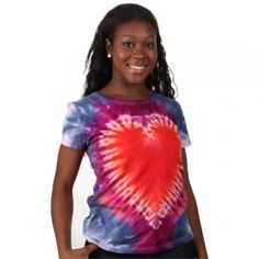 How to Tie-Dye a Heart T-shirt | CraftyChica.com | video