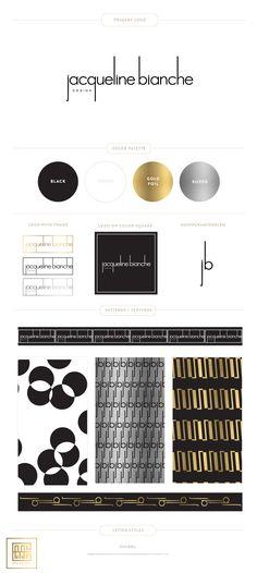 Emily McCarthy Branding Design | Jacqueline Bianche Design Branding Board
