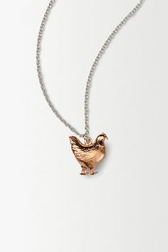 hen necklace