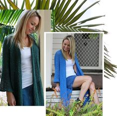 Eclipse Kimono: Moss or Cobalt Bohemian Style, Boho, Crochet Cape, Barefoot Blonde, Indian Summer, Capes, Cobalt, Fashion Online, Sweaters