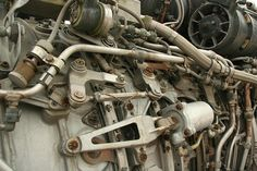 the beauty of machines - Jet Engine Parts