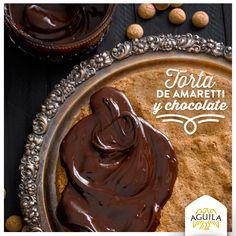 Torta de Amaretti y #chocolate