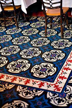 Bouchon's tile floor