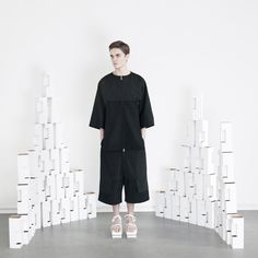 ORPHAN BIRD AW14/15 LOOKBOOK #menswear #fashion #lookbook #minimal #allblack #blackonblack #simplicity #artinstallation #readytowear #collection #fw #cphfw #edgy #avantgarde