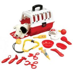 Battat Dalmation Vet Kit Toy * This is an Amazon Affiliate link. Be sure to check out this awesome product.
