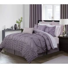 Single Duvet Set Izmir Plum Buy One Get One Free