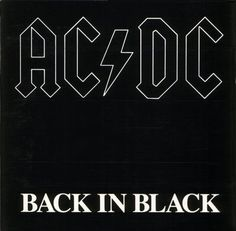 AC/DC;  Back in Black - (1980)