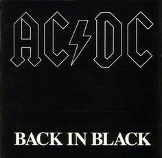AC/DC;  Back in Black - (1980)