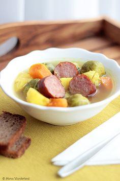 Rosenkohl-Kartoffel-Eintopf Brussel sprout potatoe stew