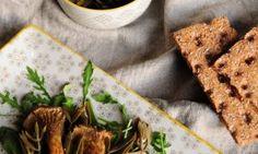 Σαλάτα με πλευρώτους και κρίταμο