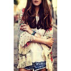 Simona Floral Kimono