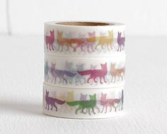Pop Art Fox Washi Tape 15mm by LobsterBisqueVintage on Etsy