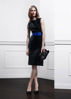 Fall-Winter 2013 | Lookbook | #AnneFontaine #MODERNPARISIAN #FW13  Dress MARIELA Belt LOUISE Bag CHERIE