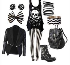 I forgot how much I love this style!   Gothic chic