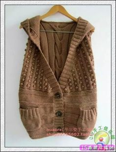 最新毛衣编织款式欣赏,很多没见过的样式|棒针作品秀 - 15路驿站