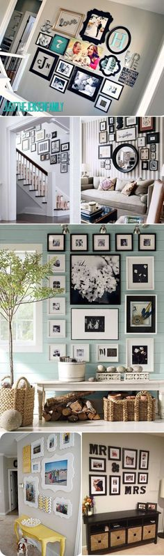 family photos gallery wall ideas