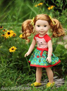 Wellie Wishers Doll Willa