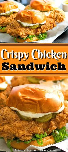 Crispy Chicken Sandwich – You are in the right place about grilled Sandwiches Here we offer you the most beautiful pictures about the Sandwiches de jamon you are looking for. When you examine the Crispy Chicken Sandwich – part of the picture you … Crispy Chicken Burgers, Roast Beef Sandwich, Chicken Sandwich Recipes, Fried Chicken Sandwich, Crispy Chicken Wraps, Cubano Sandwich, Best Sandwich Recipes, Crispy Chicken Recipes, Sandwich Ideas