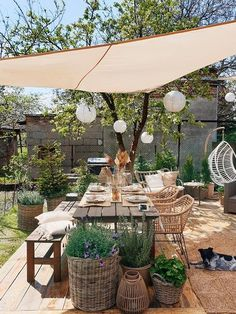 Cozy Patio, Backyard Patio, Patio Design, Garden Design, Moroccan Garden, Outdoor Living, Outdoor Decor, Cozy Cafe Interior, Gardening