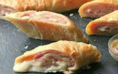 Ρολάκια με ζαμπόν και τυρί