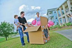 Caixa de balões com gás hélio - menina. (Foto: Divulgação)
