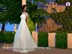 LuxySims3's Wedding Collection N6