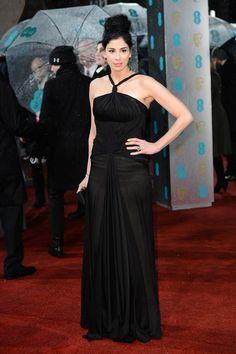 Sarah Silverman - 2013 British Academy Film Awards - Red Carpet Arrivals