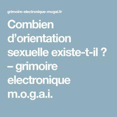 Combien d'orientation sexuelle existe-t-il ? – grimoire electronique m.o.g.a.i. Orientation