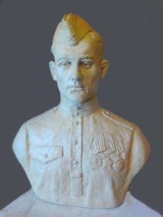 Скульптура солдата