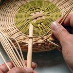 Ošatka na chleba - Moderní košíkářství Basket Weaving, Wicker Baskets, Diy And Crafts, Handmade, Hampers, Rattan, Braid, Hand Made, Arm Work