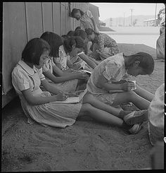 The Wheelock Library compares photos of Japanese Internment camps from different photographers