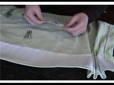 ▶ How To Use 4-Prong Drapery Hooks to Create French Pleats - YouTube