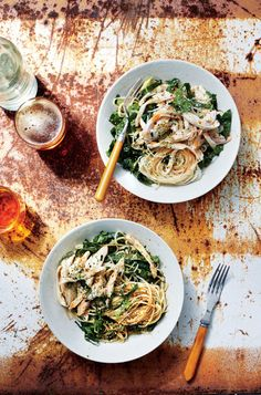 Sichuan-Style Chicken with Rice Noodles